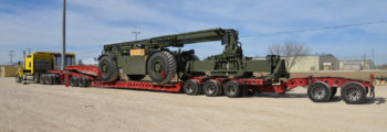 2011: Trangistics Selected as Leading Transportation Provider for Kalmar's RT240s